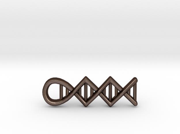 DNA pendant 3d printed