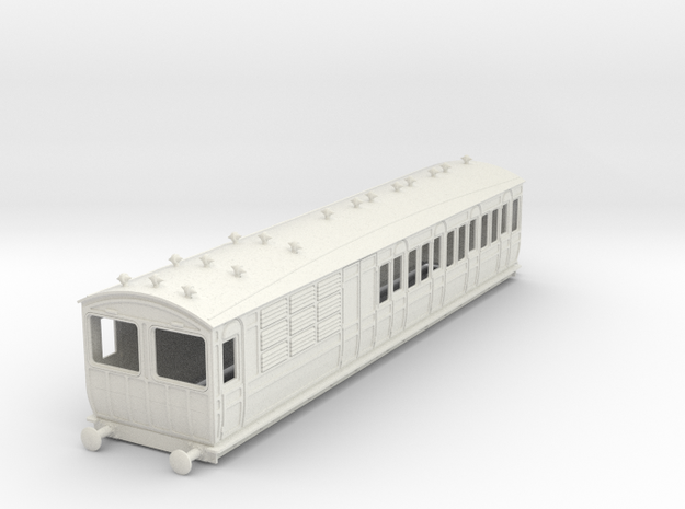 o-32-met-ashbury-chesham-brake-3rd-coach in White Natural Versatile Plastic