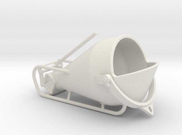 1-50 Concretebucket 750L Transport in White Natural Versatile Plastic