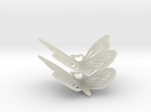 Monarch Earrings 3d printed