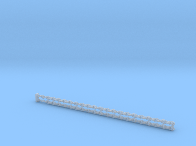 1:200 AnchorChain_Stud link chain in Smoothest Fine Detail Plastic