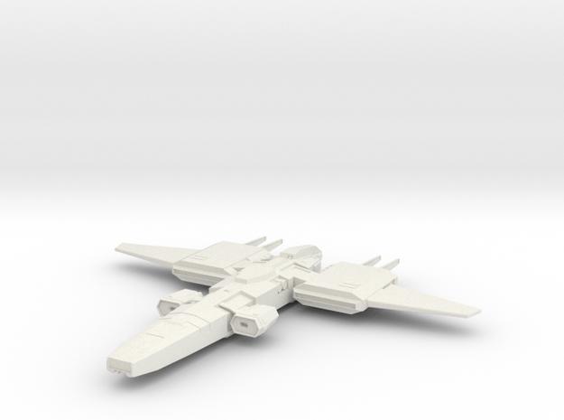 FD-42 Longsword in White Natural Versatile Plastic