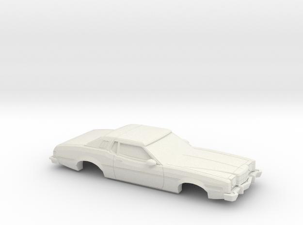 1/43 1974-76  Ford Elite in White Natural Versatile Plastic