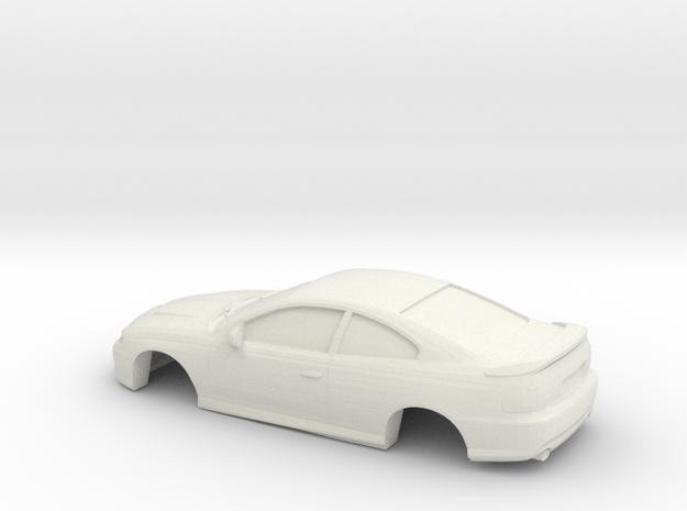 1/43 2006 Pontiac GT in White Natural Versatile Plastic