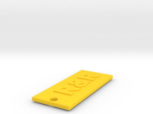 R&RMSO in Yellow Strong & Flexible Polished