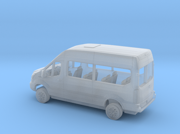 1/160 2018 Ford Transit High Top Van Kit in Smooth Fine Detail Plastic
