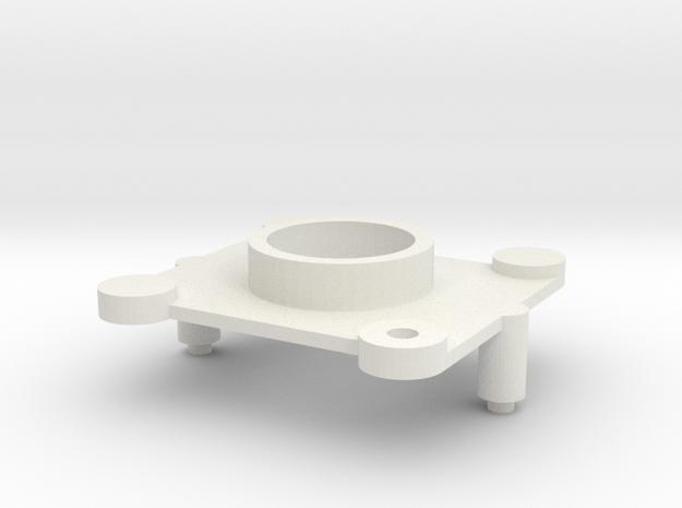 GEAR TOP in White Natural Versatile Plastic