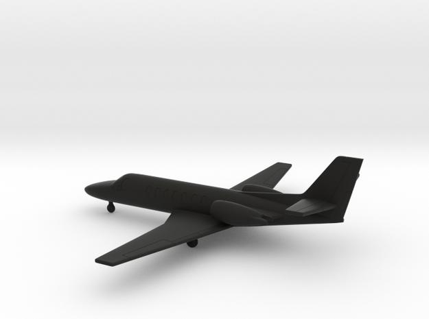 Cessna 560 Citation Encore in Black Natural Versatile Plastic: 1:200