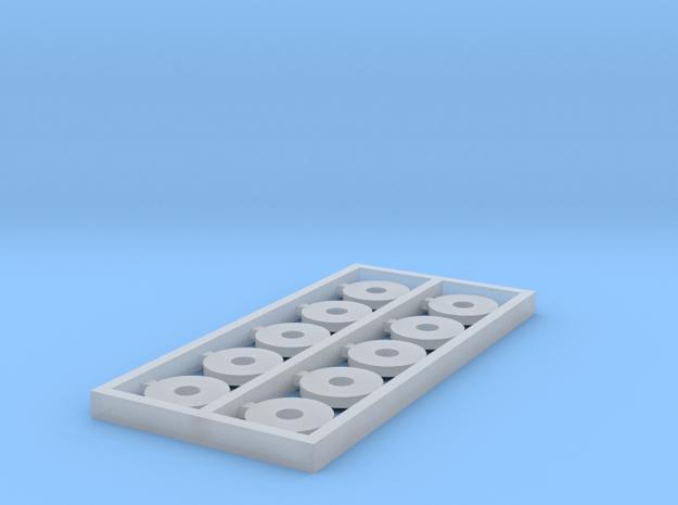 HO 10PK KMT 6X1.89X0.82 THK WSHR in Smooth Fine Detail Plastic