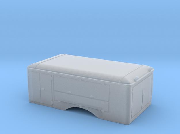 1:120 Aufbau W50 CO2 LF Werksfeuerwehr Böhlen in Smooth Fine Detail Plastic