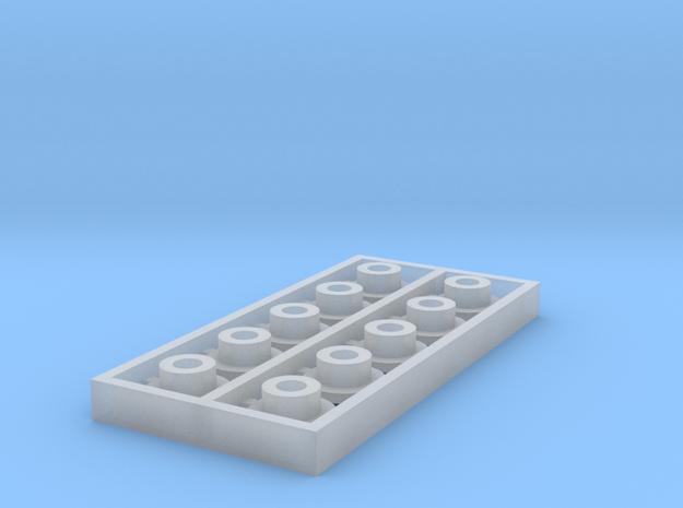 HO 10PK KMT 6X2.01X2.51 THK SHLDR WSHR in Smooth Fine Detail Plastic