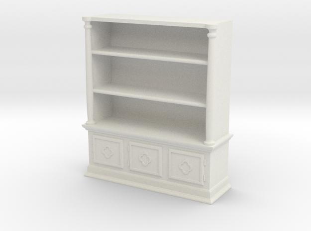 Bookshelf Square - 1:48 in White Strong & Flexible