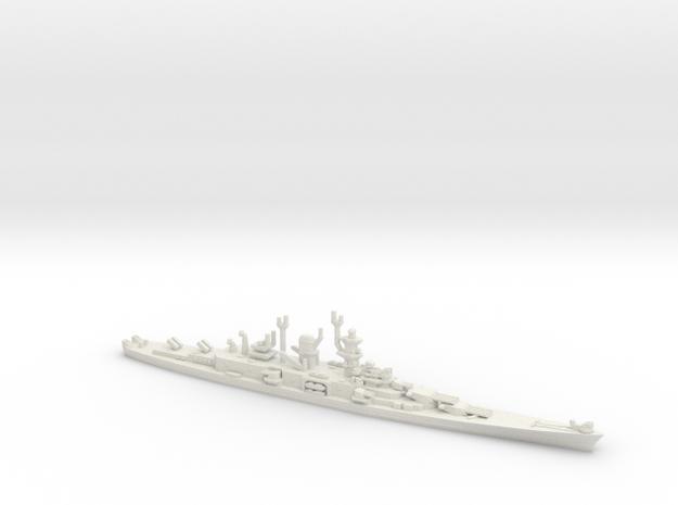 USS Alaska (CBG-1) Guided Missile Cruiser in White Natural Versatile Plastic: 1:1800