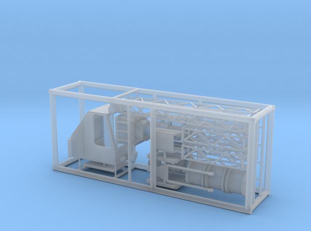 Betonmischanlagenkran in Einzelteilen in Smooth Fine Detail Plastic