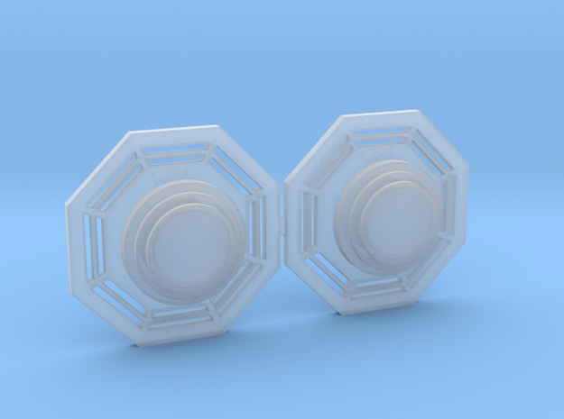 Artoo De Ago's 1:2.3 octagon ports, shallow ANH in Smooth Fine Detail Plastic