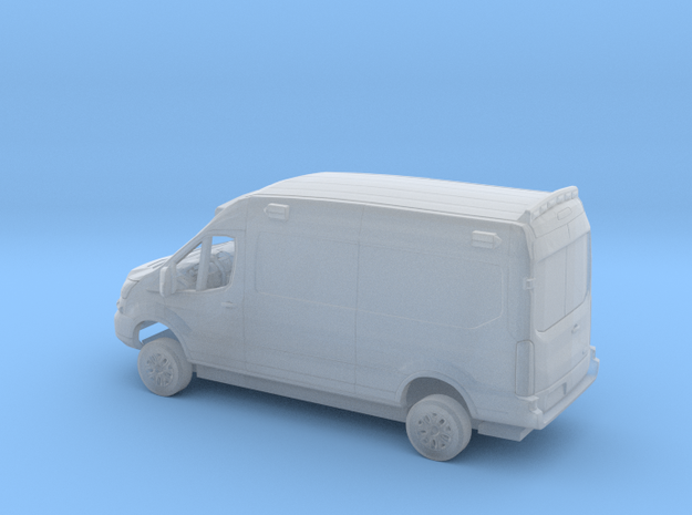 1/160 2018 Ford Transit Mid Roof Ambulance Kit in Smooth Fine Detail Plastic
