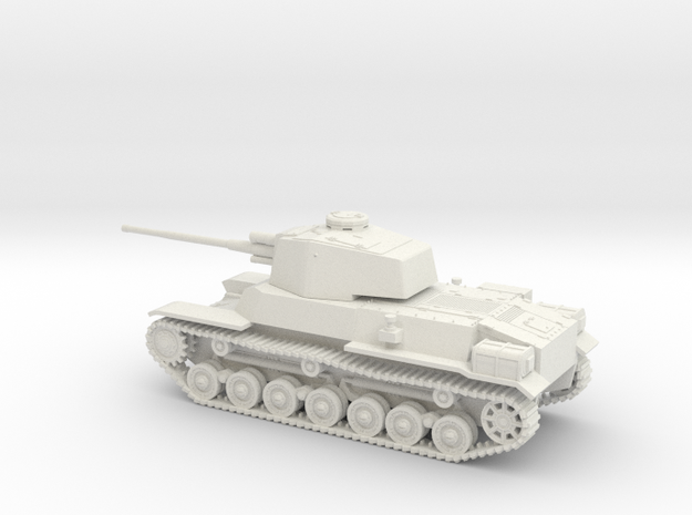 1/56 IJA Type 4 Chi-To Medium Tank in White Natural Versatile Plastic