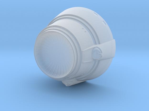 1:1000 Enterprise Refit Deflector in Smoothest Fine Detail Plastic