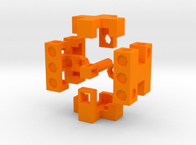 Puzzle Die 3d printed