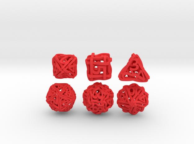Loops Dice 3d printed