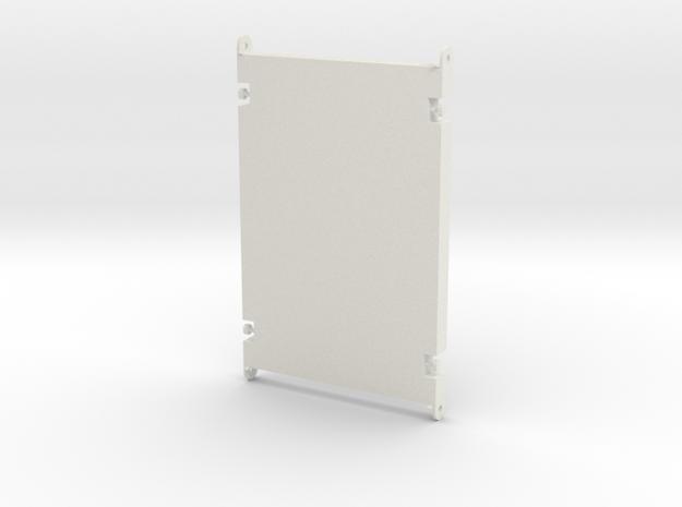 1:50 Baggermatte 3500mm x 2400mm x 240mm in White Natural Versatile Plastic
