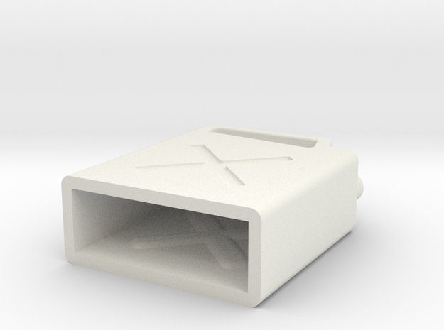 JaBird RC Jerry Can V4 in White Natural Versatile Plastic