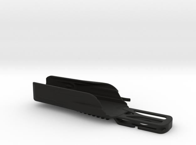 Leatherman Surge Holster, Drop design in Black Natural Versatile Plastic: Medium