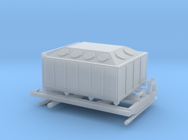 1:120 Aufbau für LKW IFA W50 Absetzcontainer Typ 2 in Smooth Fine Detail Plastic