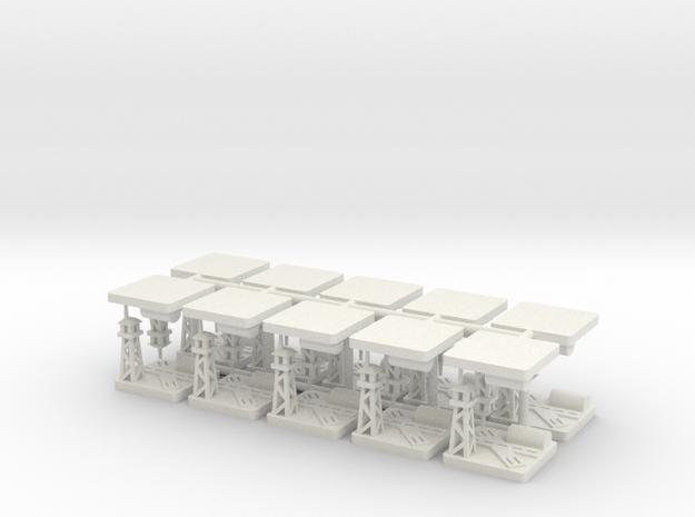 Airfield x20 in White Natural Versatile Plastic