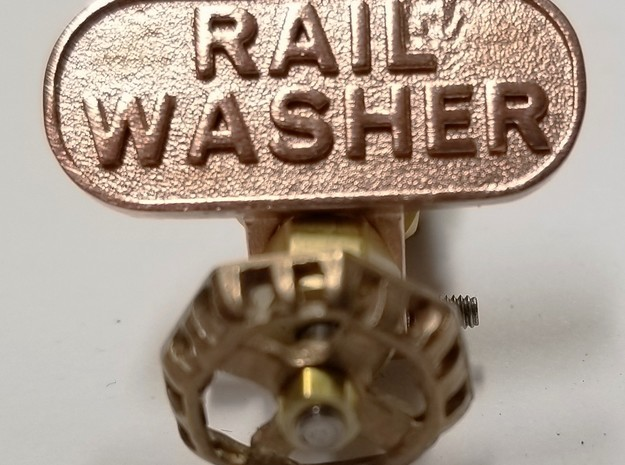 tag_rail_washer in Natural Bronze