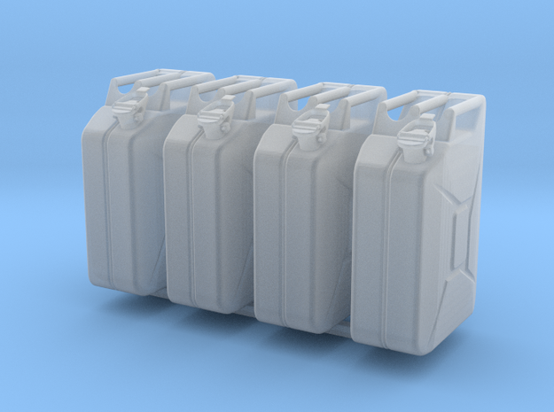 1:18 Kanister jerry can fuel can 20 Ltr. in Smooth Fine Detail Plastic