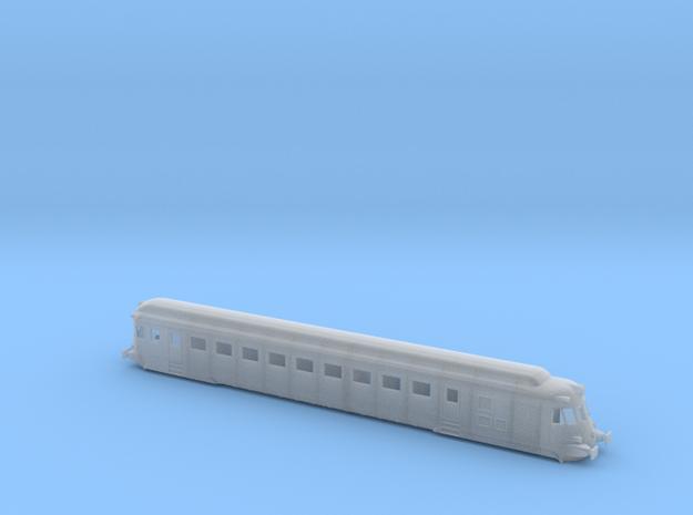 Tren Automotor Fiat (TAF) testero in Smoothest Fine Detail Plastic
