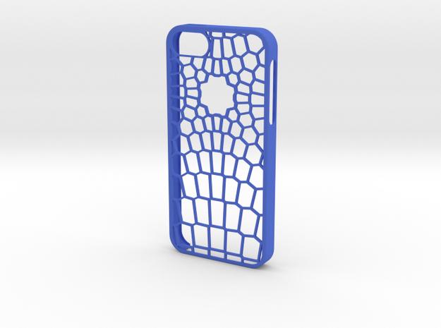 Vertex IPhone 5/5s Case in Blue Processed Versatile Plastic