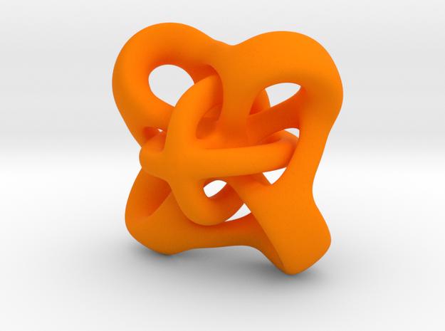 Twirly pendant 3d printed