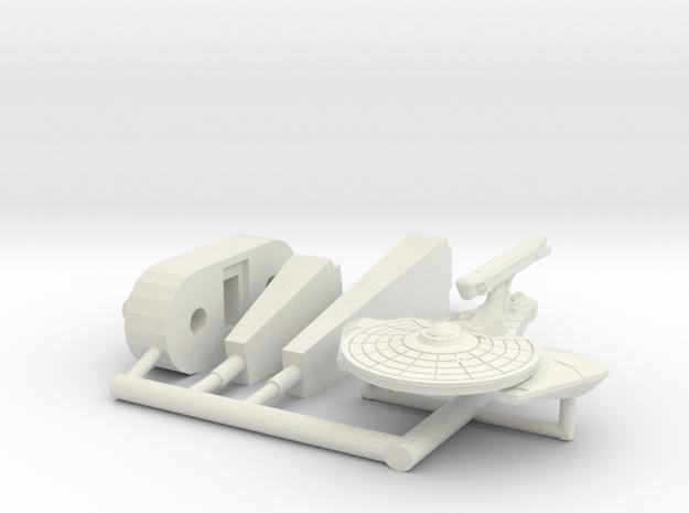 6k Remora Escort in White Natural Versatile Plastic