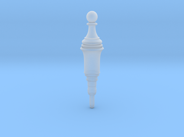 Resident Evil 2 Remake Pawn Plug chess in Smooth Fine Detail Plastic