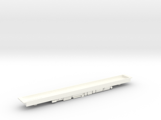Class 158/159 DMU Floor in White Processed Versatile Plastic