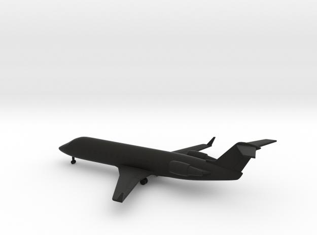 Bombardier CRJ200 in Black Natural Versatile Plastic: 6mm