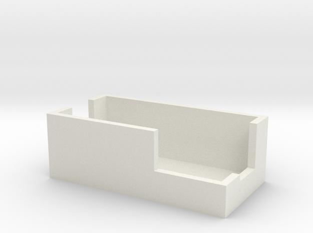 ".28"" Voltmeter Cover in White Natural Versatile Plastic"