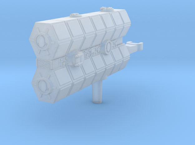 YT-1300 Freight Pusher Turbolaser Module in Smooth Fine Detail Plastic
