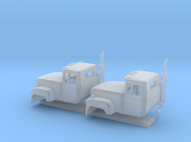 1/160 2X Mack RD Cab in Smooth Fine Detail Plastic