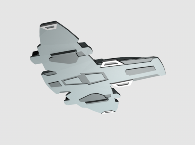 1/670 Voyager Aeroshuttle in Smooth Fine Detail Plastic