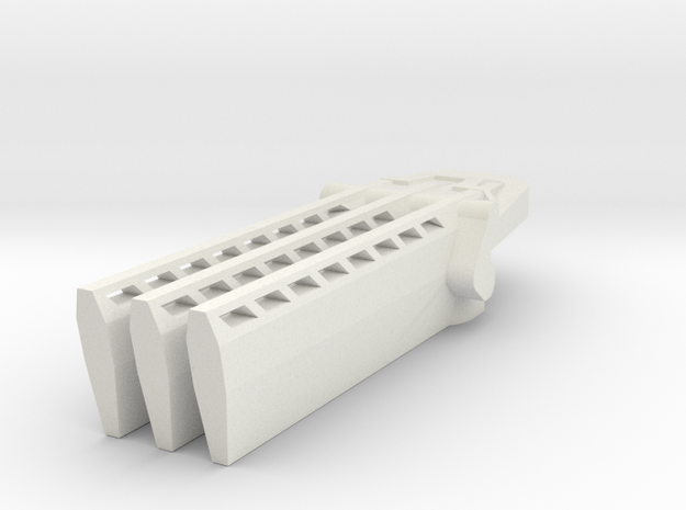 Onrakya's Claws in White Natural Versatile Plastic