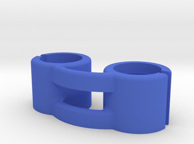 Teradek Bridge for 14mm Diameter Antennas in Blue Processed Versatile Plastic
