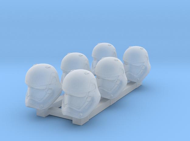 Sovreign Trooper Heads in Smoothest Fine Detail Plastic