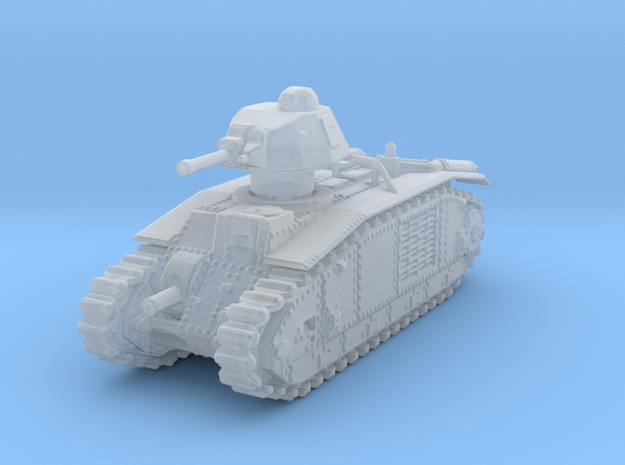 Char B1 Bis 1/285 in Smooth Fine Detail Plastic