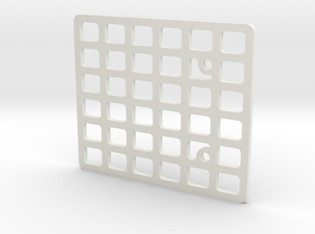 JaBird RC Roof Rack - G6/Deadbolt in White Natural Versatile Plastic