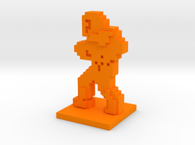 PixFig: Belmont in Orange Processed Versatile Plastic