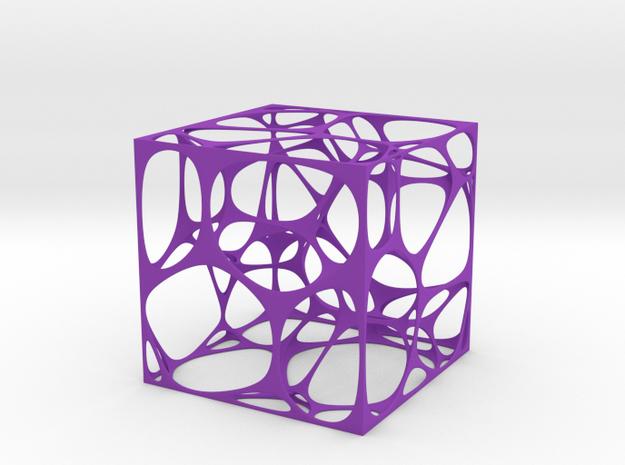 Voronoi Cube 3d printed