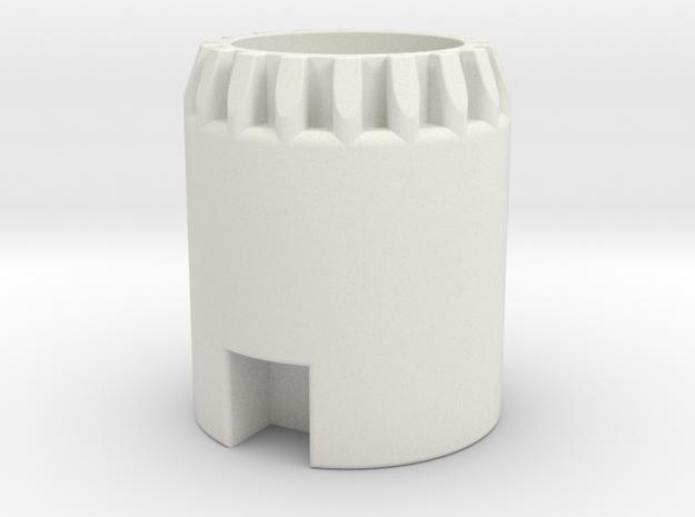 Custom Request - NPX holder for Helv'tica Gemini in White Natural Versatile Plastic